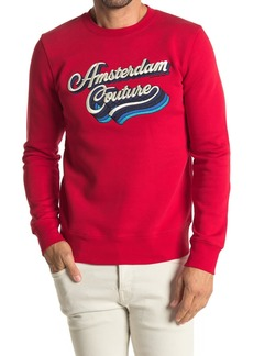 Scotch & Soda Scotch Logo Crew Neck Pullover