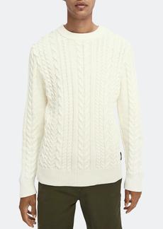 Scotch & Soda Seasonal Monsanto Crewneck Long Sleeve Sweater - S - Also in: L