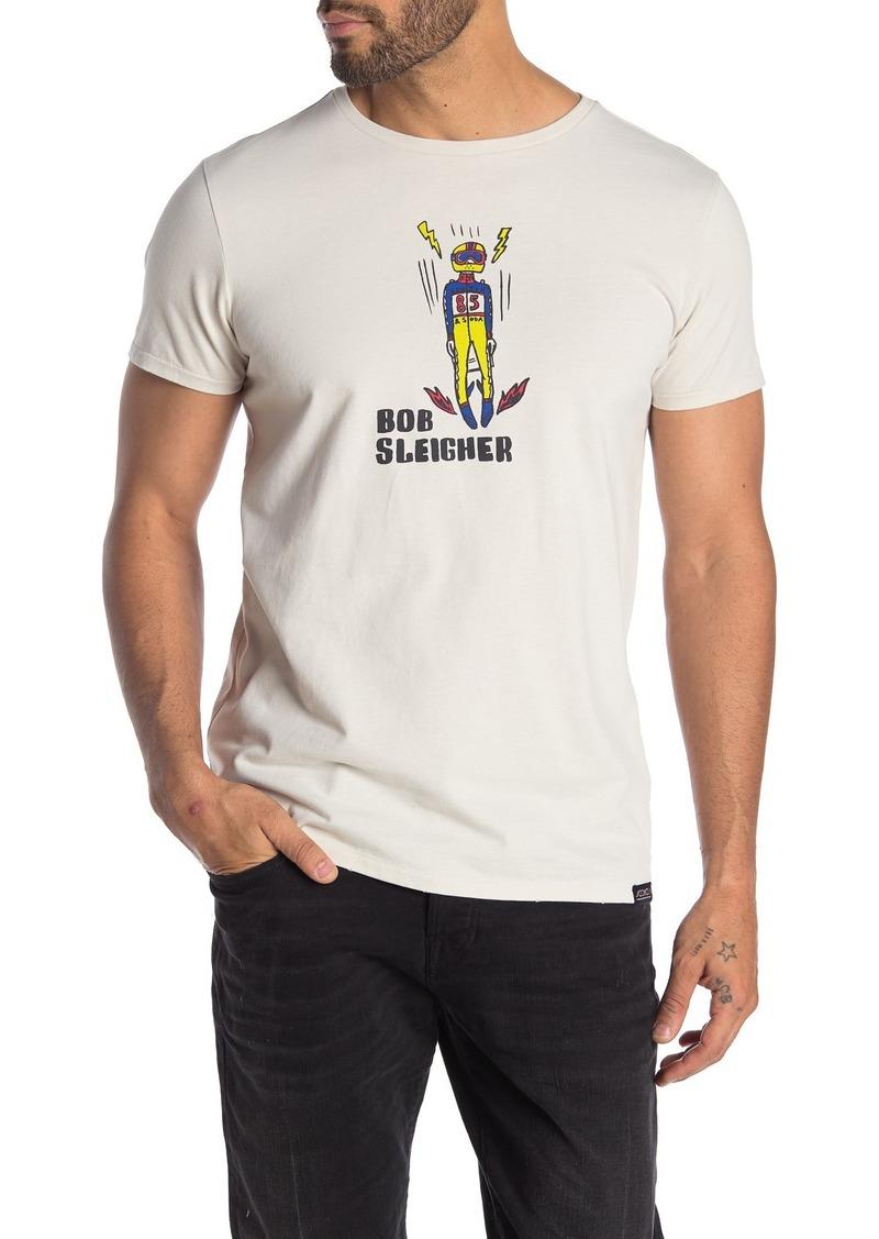 Scotch & Soda Short Sleeve Front Graphic Print T-shirt
