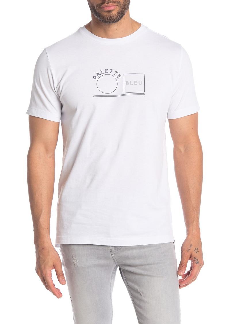 Scotch & Soda Short Sleeve Graphic Print T-Shirt