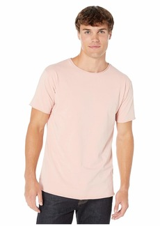 Scotch & Soda Short Sleeve in Organic Cotton with Raw Edge Styling