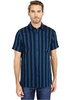 Scotch & Soda Short Sleeve Shirt in Structured Stripe
