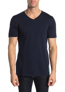 Scotch & Soda Short Sleeve V-neck Jersey Knit T-shirt