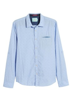 Scotch & Soda Slim Fit Patterned Shirt