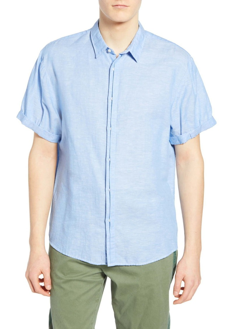 Scotch & Soda Slubbed Woven Shirt