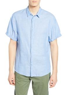 Scotch & Soda Slubbed Woven Regular Fit Shirt