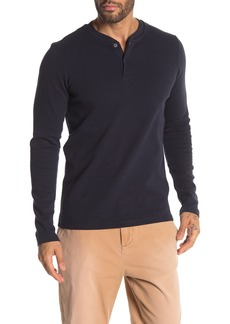Scotch & Soda Solid Thermal Long Sleeve Henley