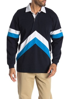 Scotch & Soda Sporty Long Sleeve Polo
