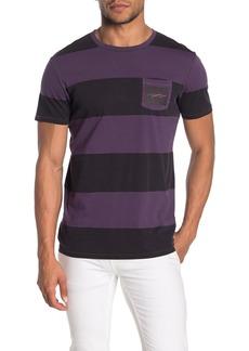 Scotch & Soda Stripe Crew Neck T-Shirt