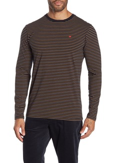 Scotch & Soda Striped Long Sleeve T-Shirt