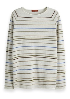 Scotch & Soda Striped Raglan Pullover