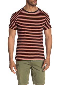 Scotch & Soda Striped Raglan T-Shirt