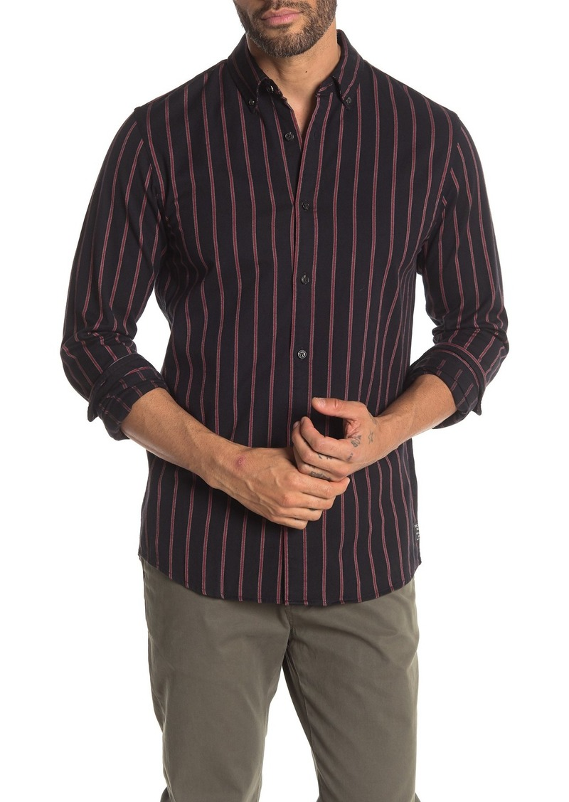 Scotch & Soda Striped Regular Fit Shirt