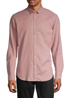 Scotch & Soda Textured Long-Sleeve Shirt