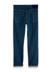 Scotch & Soda The Norm Simple Shade High Rise Straight Fit Jeans