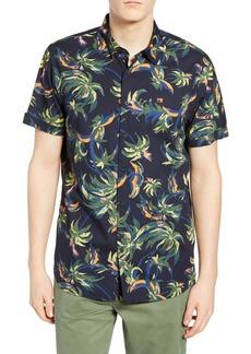 Scotch & Soda Tropical Print Woven Shirt
