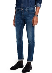 Scotch & Soda Tye Lucky Blauw Dark Slim Tapered Fit Jeans