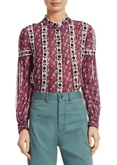 Sea Bella Embroidered Floral Blouse