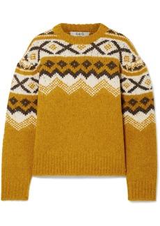 Sea Fair Isle Knitted Sweater
