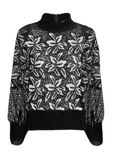 Sea Lace Sweatshirt