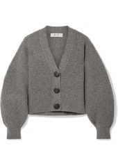 Sea Nellie Ribbed Wool Cardigan