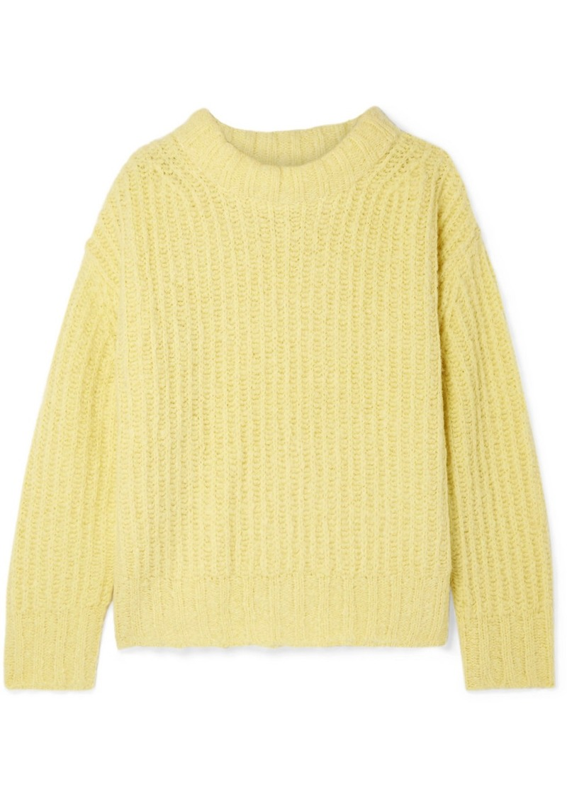 Sea Nora Oversized Ribbed-knit Sweater