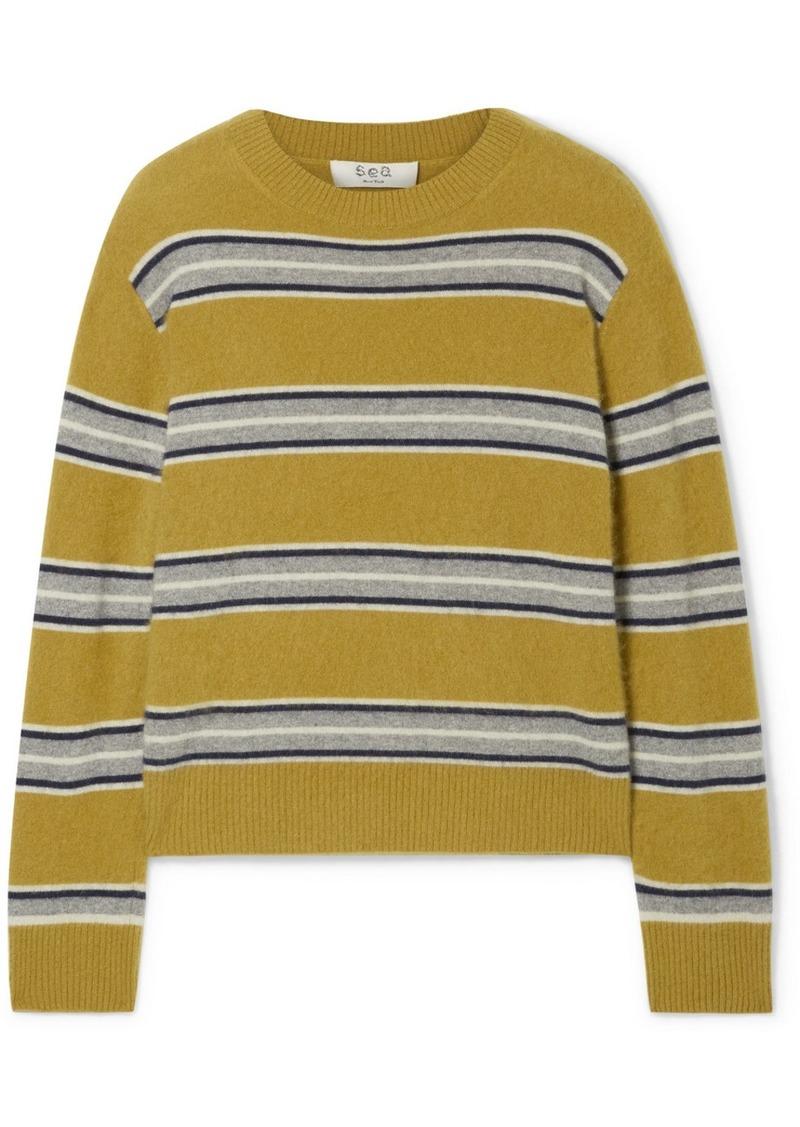 Sea Salene Striped Cashmere Sweater