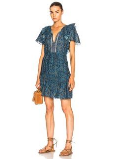Sea Crochet Pom Pom Dress