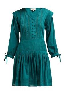 Sea Hemingway pintuck cotton dress