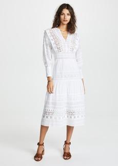 Sea Ila Lace Armour Maxi Dress