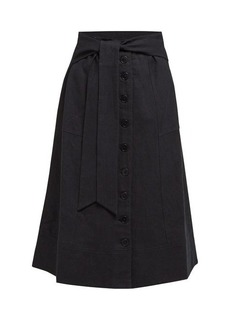 Sea Izzy cotton-blend skirt