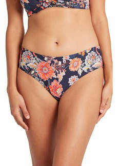 Sea Level Floral Print Bikini Bottoms