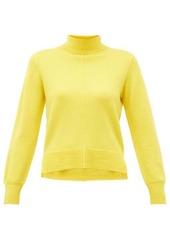Sea Nora side-slit roll-neck wool sweater