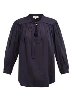 Sea O'Keefe cotton blouse