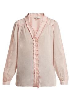 Sea Seraphin ruffled cotton blouse