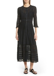 Sea Sevi Lace Panel Dress