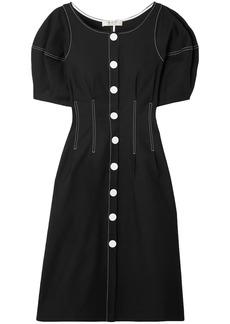 Sea Woman Kamille Stretch-cotton Dress Black