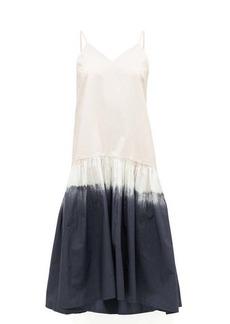 Sea Zelda tie-dyed cotton midi dress