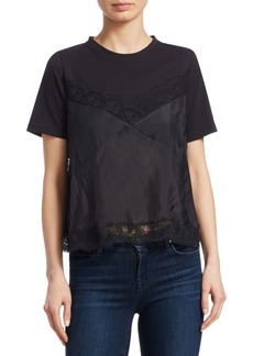 Sea Whitley Lace Camisole Combo Tee