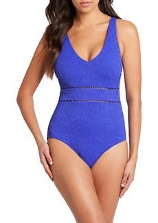 Women's Sea Level Tank Style Underwire One-Piece Swimsuit