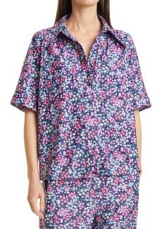 Women's Sea Lissa Liberty Print Floral Button-Up Blouse