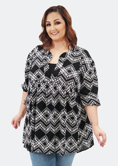 Sealed With A Kiss Emmylou Tunic - 4X - Also in: 3X, 5X, 1X, 6X, 2X