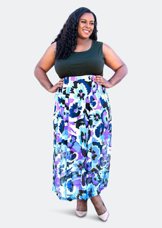 Sealed With A Kiss Paris Maxi Dress - 5X - Also in: 1X, 4X, 3X