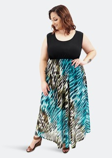 Sealed With A Kiss Paris Maxi Dress - 1X - Also in: 2X, 3X, 5X, 4X, 6X
