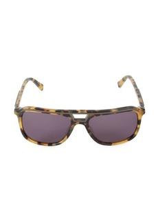 Sean John 58MM Rectangular Sunglasses