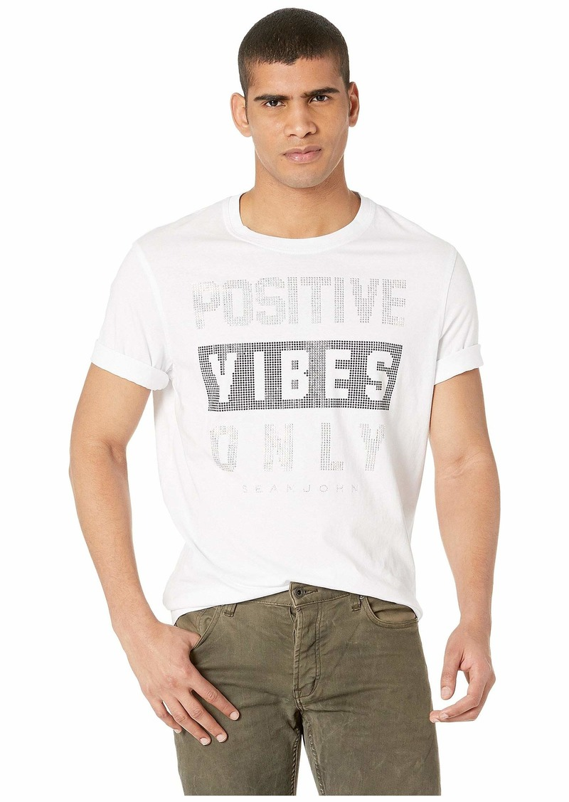 Sean John Positive Vibes Only Stud