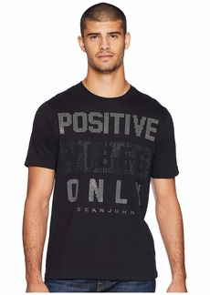 Sean John Positive Vibes Only Stud Tee