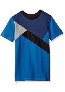 Sean John Boys' Big Cross Roads Short Sleeve Fashion Top  M
