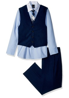 Sean John Big Boys' Four Piece Vest Set