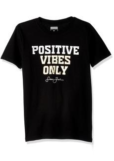 Sean John Big Boys' Positive Vibes Short Sleeve Tee  M